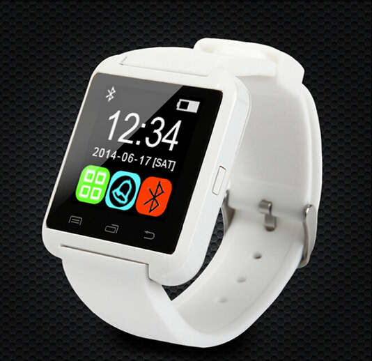 Free Shipping Smart watch U8 bluetooth watch wristwatch for iPhone Samsung Android Phone Smartphones(China (Mainland))