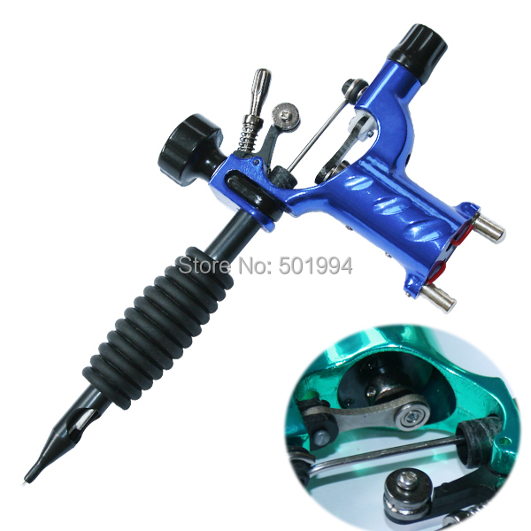 Dragonfly Rotary Tattoo Machine Shader & Liner 7 Colors Assorted Tatoo Motor Gun Kits Supply For Artists(China (Mainland))