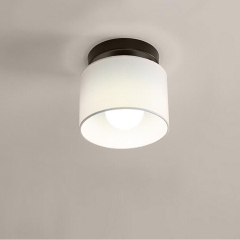 Modern Ceiling Light LED Lamp Diameter 25cm Cloth Lamp Shade Simple Ceiling L
