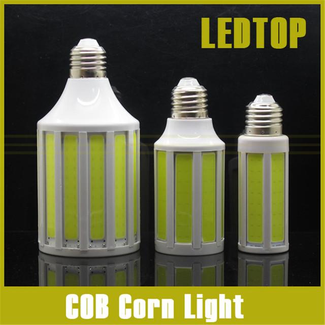 CREE Chip 12W 20W COB SMD LED Corn Bulb Light E27 Lamp Cool/Warm White 220V 360 Degree Spot Light Free Shipping