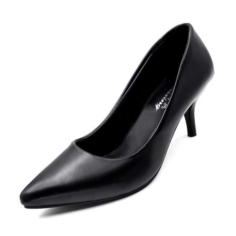 Fashion Women's High Heels Pumps Shoes New Arrival 2016 Women's Slip On Stilettos Shoes High Quality Women's Dress Shoes