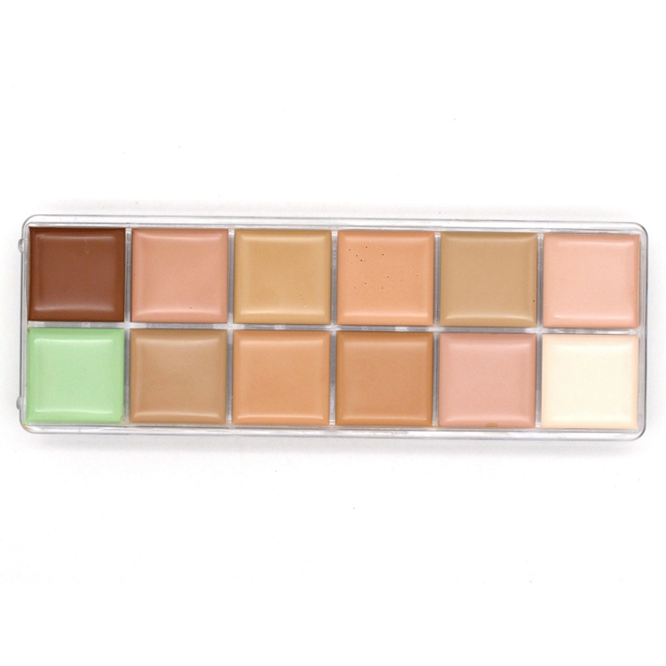 NK3 2014 New Hot Sale Makeup nake 12 colors Natural Face Concealer Cosmetics NK 3 12color