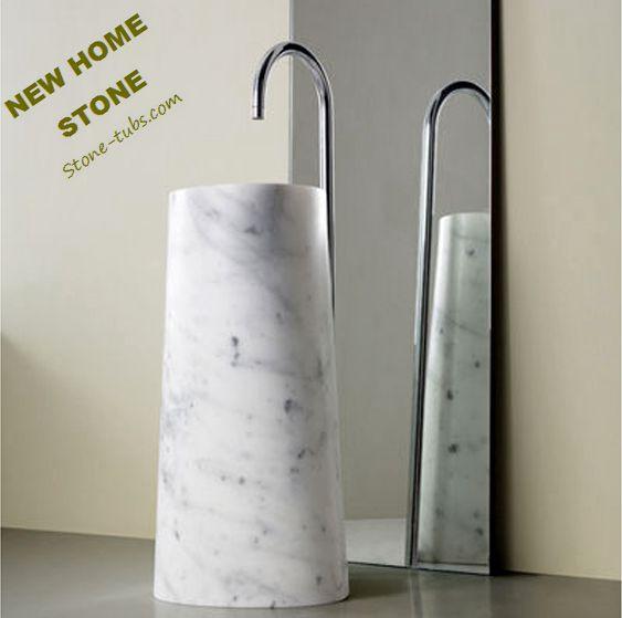 Marble Pedestal Sink : Popular Marble Pedestal Sink-Buy Cheap Marble Pedestal Sink lots from ...