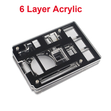 Buy Latest 6 Layer Raspberry Pi 3 Acrylic Case Enclosure Shell Box Black & Transparent Piece Compatible Raspberry Pi 2 for $3.73 in AliExpress store