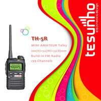 TESUNHO TH-5R long range kid small compact lightweight 5w pc programmable walkie talkies chinese