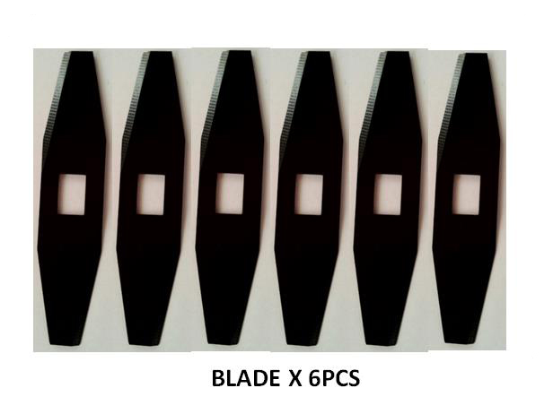 Robot Lawn Mover Blades X 6pcs For Model 8320(China (Mainland))