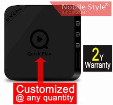 Customized 2 years warranty Amlogic S905 A53 64bits processor 1000Mbps Bluetooth 1GB+8GB Google Android5.1 IPTV TV boxes