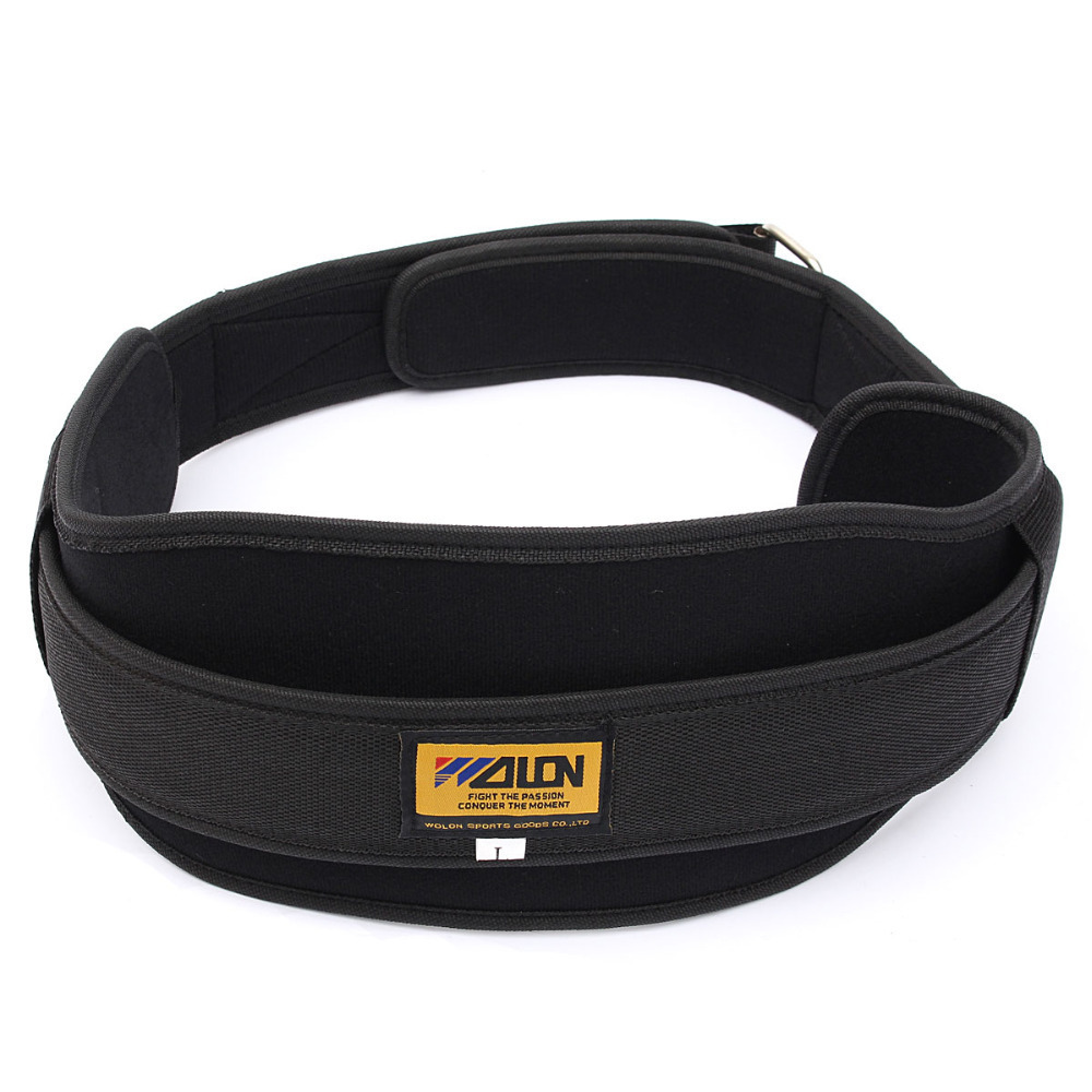 Neoprene Weight Lifting Belt Gym Fitness Wide Back Support Training - Medium(China (Mainland))