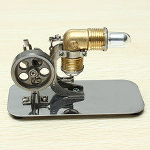 Mini Hot Air Stirling Engine Motor Model Educational Toy Kits(China (Mainland))