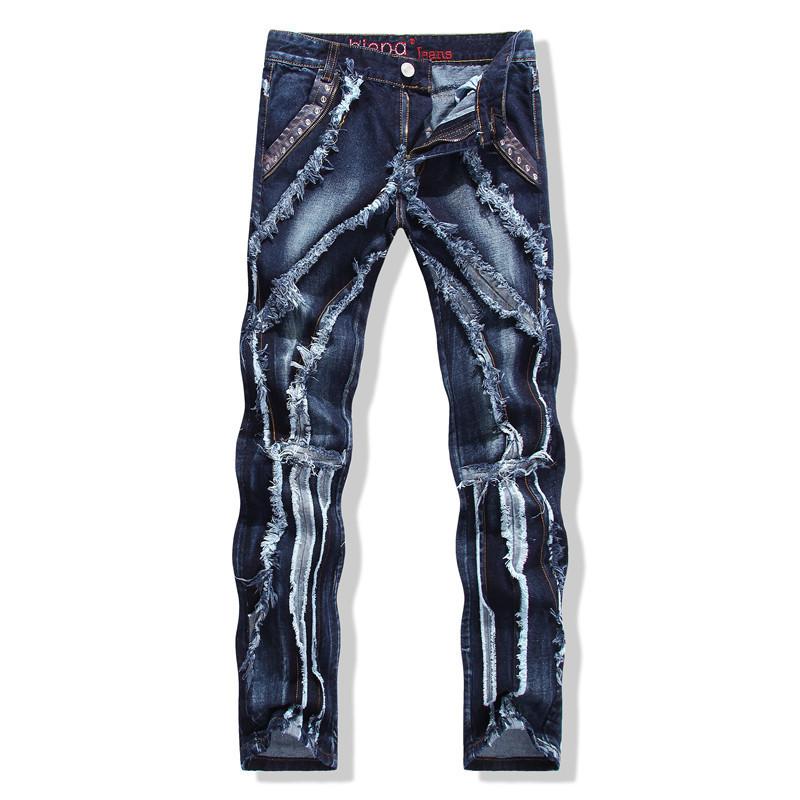 2015 Summer Style Spliced Skinny Straight Club Jean True Religious Men Jeans  Softener 100% Cotton Designer Men calas dos homensОдежда и ак�е��уары<br><br><br>Aliexpress