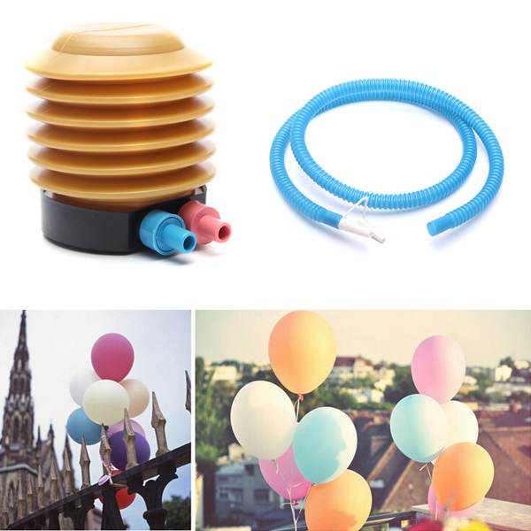 Plastic Practical Essential Inflatable Float Toys Air Foot Inflator Pump Balloon Helper Pump Wedding Tools(China (Mainland))