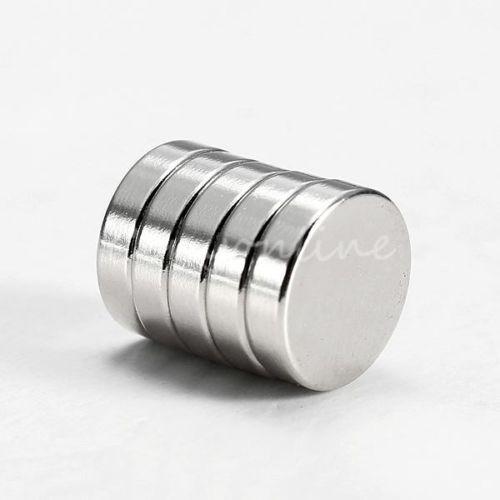 Гаджет  Hot New 5PCS Super Strong Round Magnets Disc Disk Fridge Rare Earth Neodymium 8x2mm None Строительство и Недвижимость
