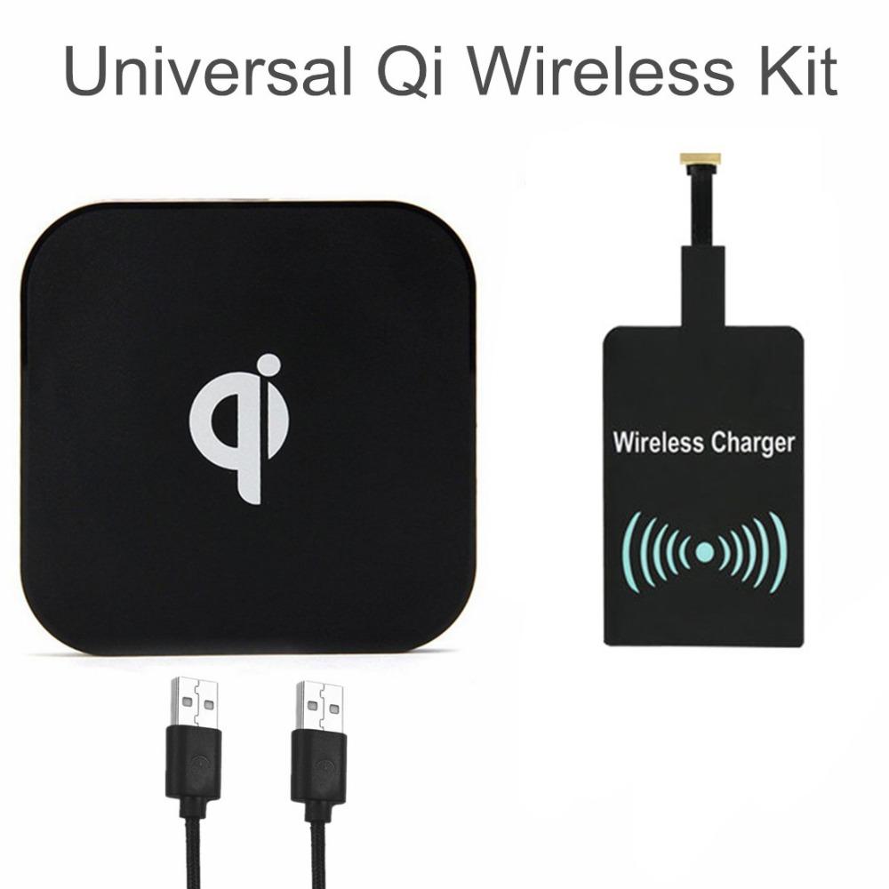 Wireless Charging Kit : Universal qi wireless charging kit charger pad