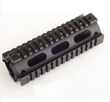 aluminum tactical quad rail weaver / picatinny rail