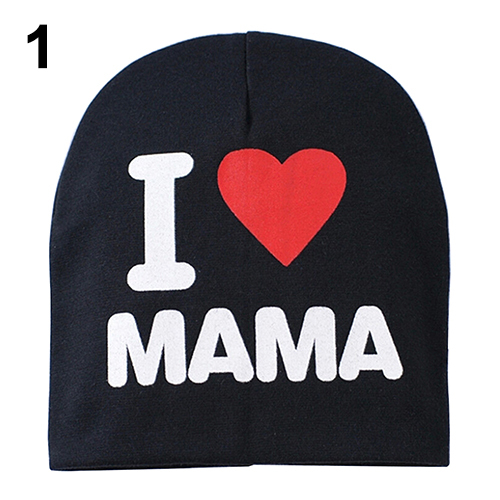 Cute Baby Infant Kid Boy Girl hat Love Heart Soft Warm Hat Knitted Cap Cotton Beanie