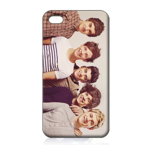 Free shipping One Direction HARD cell phone Case Cover for 4 4S 5 5S 5G 5C hard cover custom 0032(China (Mainland))