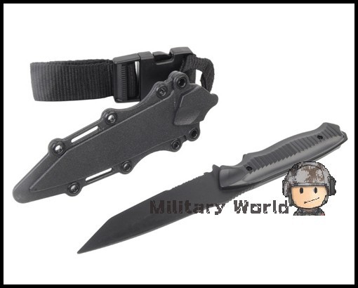 US Army Airsoft Tactical AC 6019 Plastic Knife for Hunting Training Outdoor Camping Survival Cosplay Knife