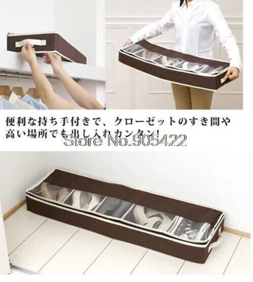 20pcs/lot bamboo hard board folded shoes organizer JY030(Hong Kong)