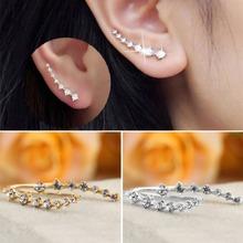 Women Hot Fashion Rhinestone Crystal Earrings Ear Hook Stud Jewelry Gift NEW Brand New(China (Mainland))