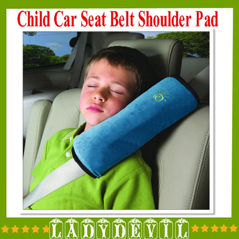 High quality Child car shoulder pad Auto Pillow Car Safety Belt Protect Shoulder Pad adjust Vehicle Seat Belt Cushion for Kids(China (Mainland))