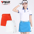 PGM Golf skirt ladies pleated skirt Lining Safety female skirt zipper freeshipping