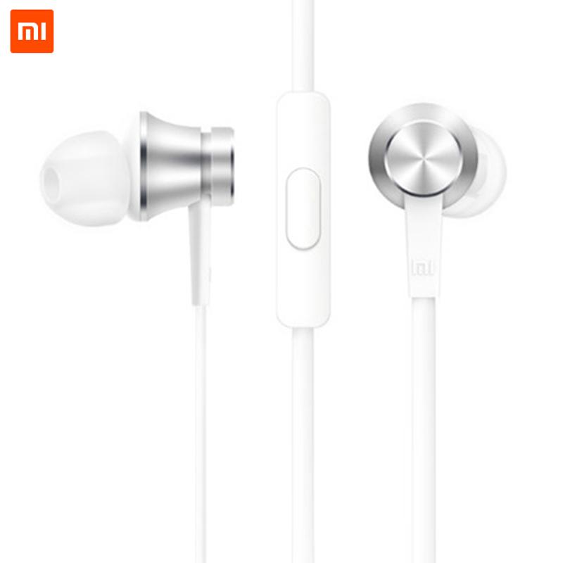 Newest Original Xiao Mi Piston 3 Mi In-Ear Earphone Base Edition with Remote Microphone Mobile Phone Accessories Xiomi Xaomi