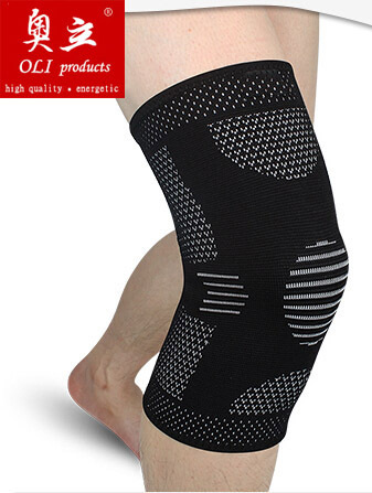 High elastic breathable basketball volleyball knee pads support protection and patella health care free shipping #knee10(China (Mainland))