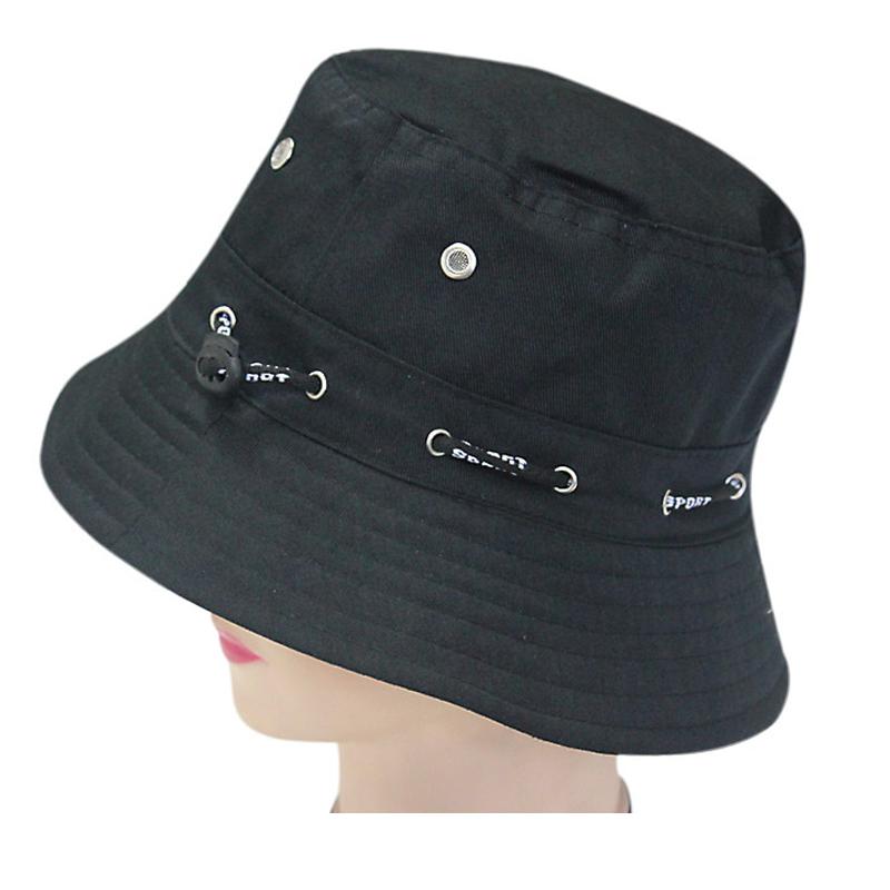 Spring And Summer Outside Sun Shade Adjustable Bucket Hats Waterproof Fabric Cap Hat 1Pcs(China (Mainland))