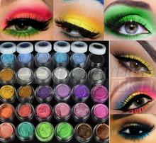New Arrival Colorful 30 Colors Eye Shadow Powder Makeup Mineral Eyeshadow High Quality