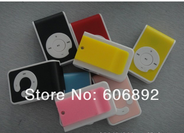 new design 10pcs/lot hot sell support 1-8GB TF card MP3,portable Q style mp3 player with retail packing