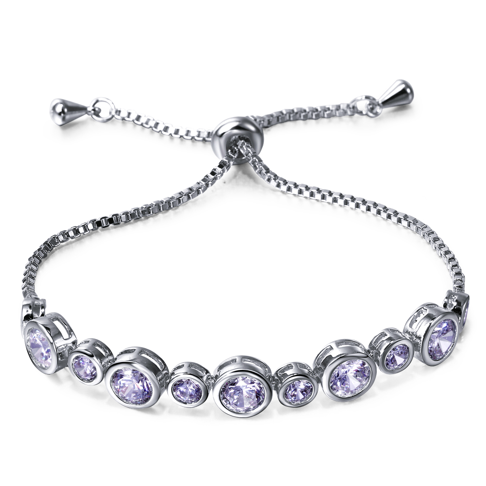Romantic Bracelet gold plated with white cz lovely Bracelets for girl new Europe and America style Free shipment(China (Mainland))