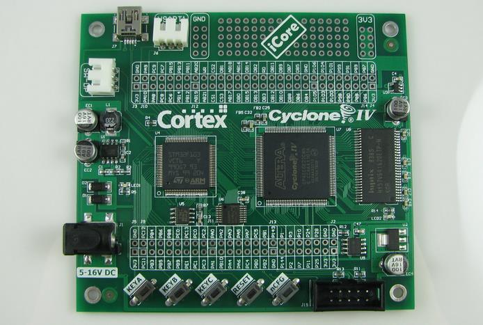 Free Shipping! FPGA + ARM core board STM32 CYCLONE4 FPGA development board(China (Mainland))