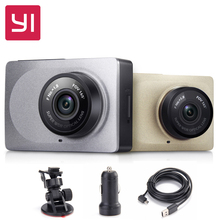 "[International Edition] Xiaomi YI Smart Car DVR 1080P 60fps Xiaoyi Dash Camera 165"" 2.7inch ADAS Safe Reminder WiFi Dashcam(China (Mainland))"