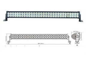 120W LED Work Light Bar 12V 24V IP67 Flood Or Spot beam For 4WD 4x4 Off road Light Bars TRUCK BOAT TRAIN BUS