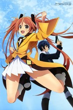 Black Bullet 1—2016 Hot sale Japanese Anime Home Decor Scroll Paintings Art Canvas Wall Picture