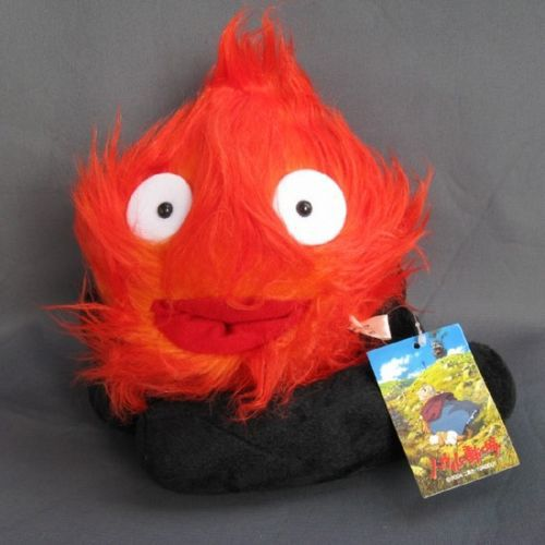 Ghibli Studio Films Howls Moving Castle 8 Demon Calcifer Flame Plush toy NEW free shipping<br><br>Aliexpress