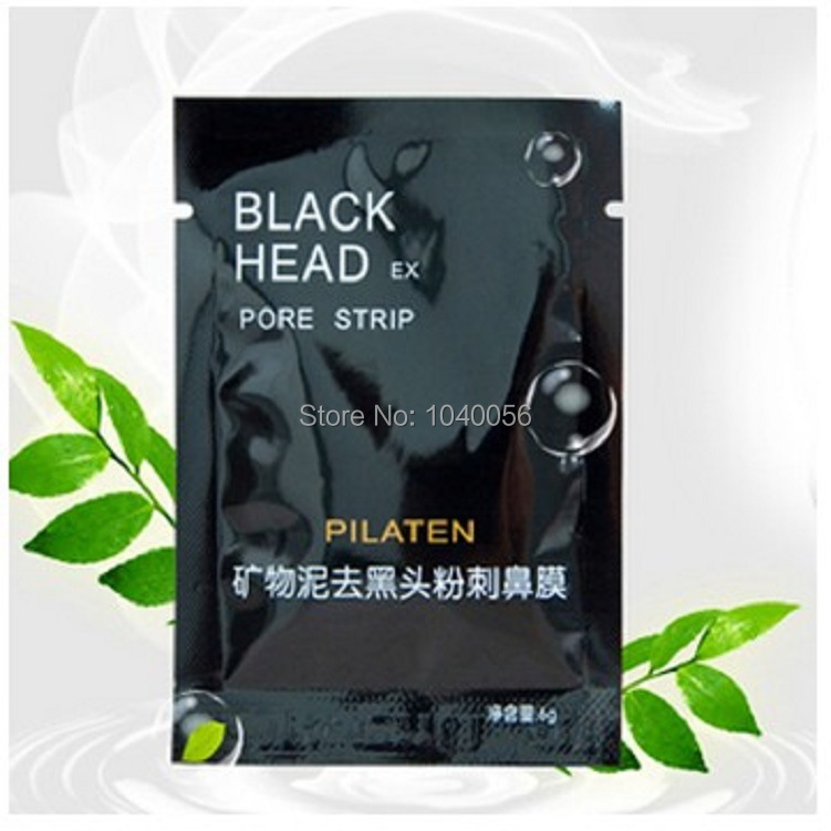 Promotions!PILATEN Face Care Tearing style Deep Clean purifying Conk Nose Blackhead Remover, acne treatment, black mud face mask(China (Mainland))