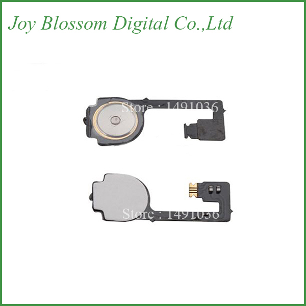 New Home Button Ribbon Flex Cable For Iphone4 4G home button key Replacement Part for iphone 4(China (Mainland))