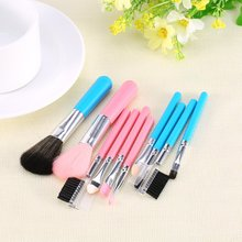 2 Colors 5pcs/kits Makeup Brushes Professional Set Makeup Brush Tools Foundation Brush For Face Make Up Beauty Essentials(China (Mainland))