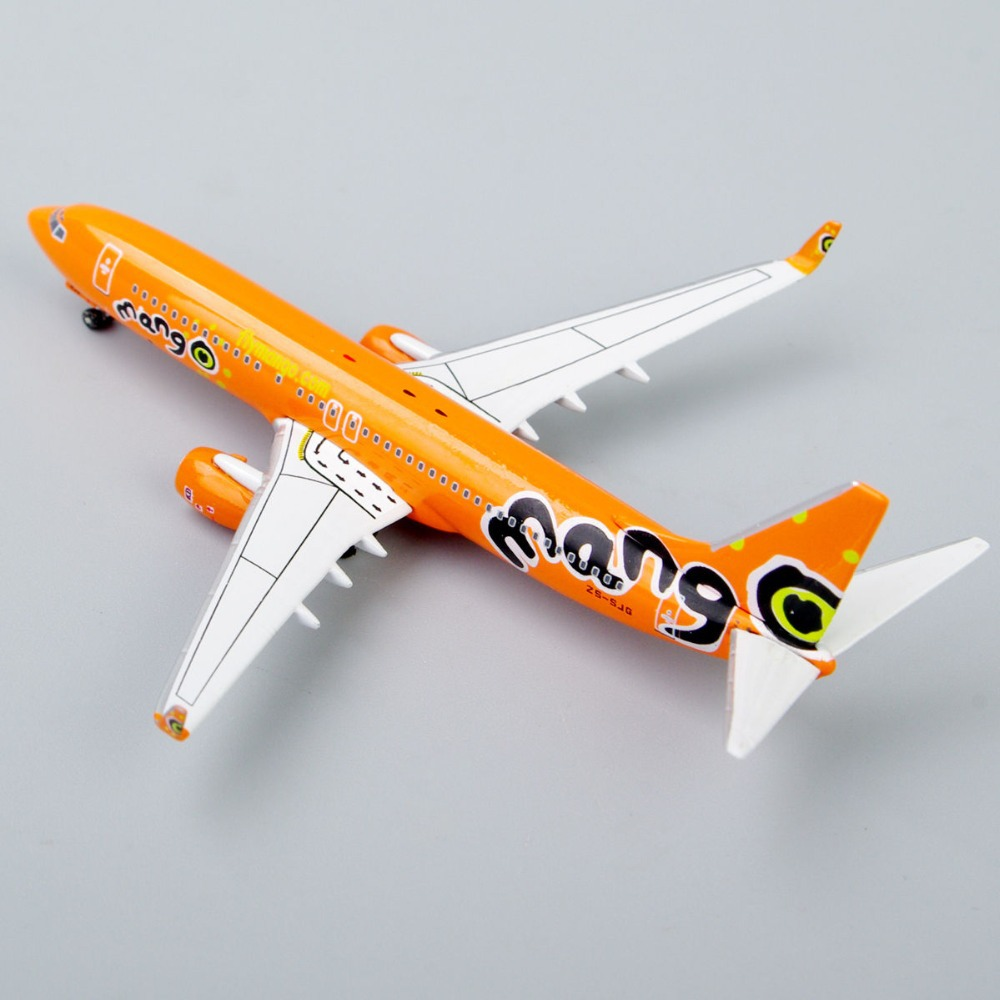 Inflight 500 Airlines 1:500 Scale Mango Boeing 737-800 ZS-SLG Die-Cast Collectibles Toys Airplane Model Juguetes Gift Orange<br><br>Aliexpress