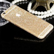 Newest fashion Shiny Full Body Glitter for apple iPhone 6 6S 4.7 Inch Phone Sticker Matte Screen Protector(China (Mainland))