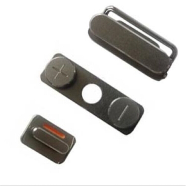 NEW Replacement Power Button - Volume Buttons - Mute Switch For iPhone 4 & 4S(China (Mainland))