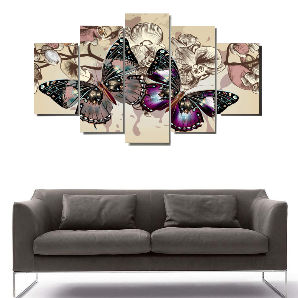 5 modular painting