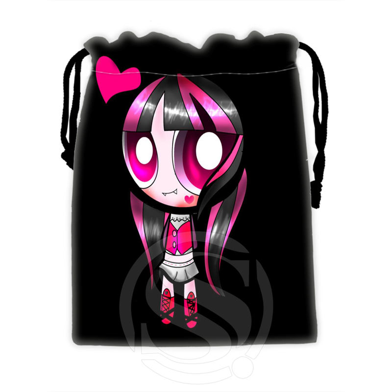 H-P775 Custom Monster high#19 drawstring bags for mobile phone tablet PC packaging Gift Bags18X22cm SQ00806#H0775(China (Mainland))