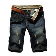 Free Shipping! 2016 Summer Men Short Jeans Men's Fashion Shorts Men hot Sale Summer Clothes New Fashion Brand Men's Short Pants(China (Mainland))