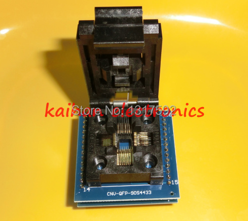 1pcs IC Adapter Socket LQFP TQFP QFP 32 to DIP28 TQFP32 QFP32 to DIP28 IC Adapters for ATMEL AVR Chips(China (Mainland))