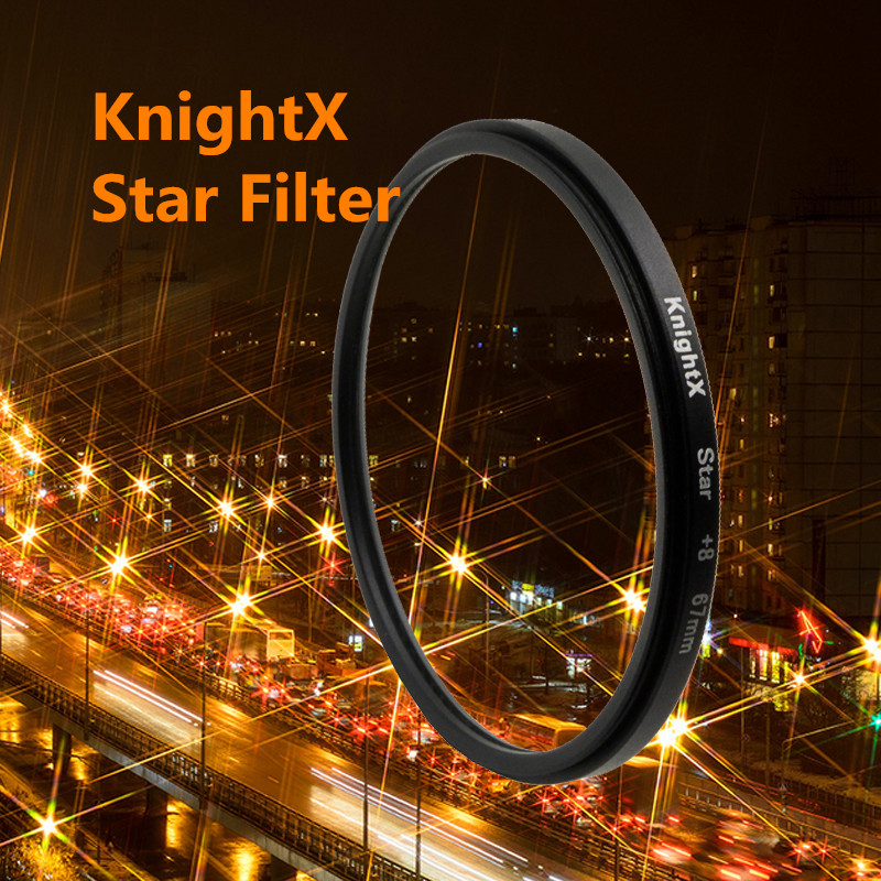 52 58 67 mm 8 Point 8PT Star Filter Point Line 58mm for Canon 18-55mm EOS Rebel T4i T3i T2i XSi XT lens DSLR d3200 d5200 d5300(China (Mainland))