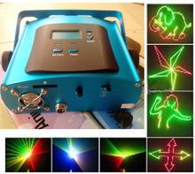 Pleine couleur bricolage Mini Programmable Laser lumières de la scène avec logiciel bricolage 1 G carte SD rvb Animation disco KTV bar accueil parti éclairage(China (Mainland))