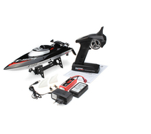 FT012 2.4G Brushless Upgraded FT009 RC Racing Boat RTR Speedboat Black  Colot F15278(China (Mainland))