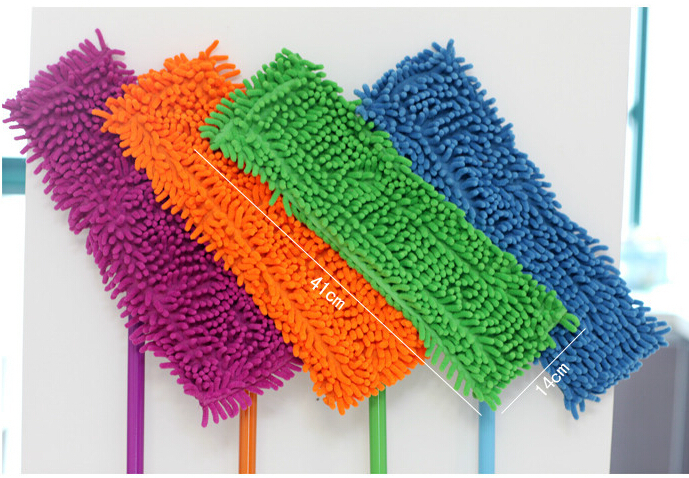 Good price&quality Bibulous quick dry soft chenille mop cheapest mop daily necessities mop easy mops floor/car/window cleaning(China (Mainland))
